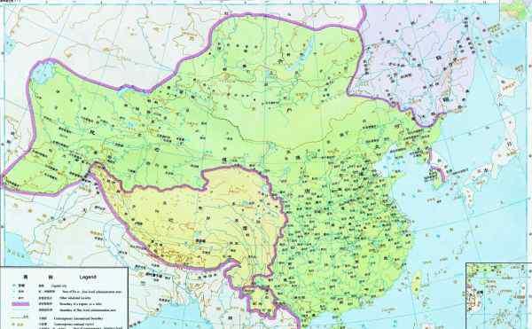 唐朝地图最大时全图 唐朝全盛时期的地图,详细的,州道的划分以及城镇名称.谢谢!