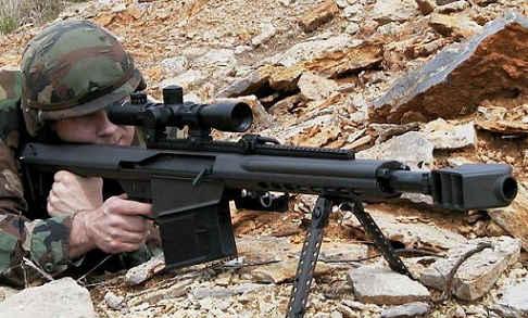 4大最著名的狙击步枪,第一把威力可跟大炮有一拼